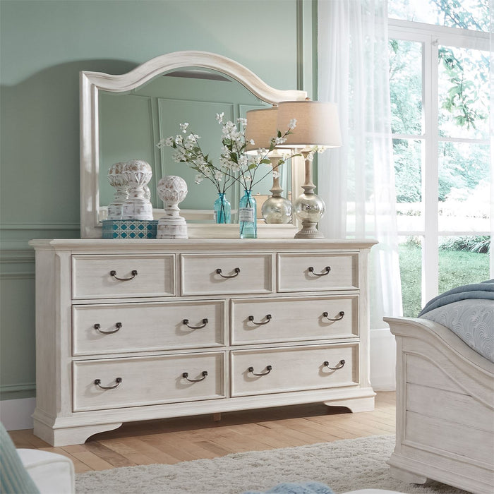 Liberty Furniture | Bedroom Dresser & Mirror in Charlottesville, Virginia 4175