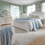 Liberty Furniture | Bedroom King Panel 3 Piece Bedroom Set in Lynchburg, Virginia 4233
