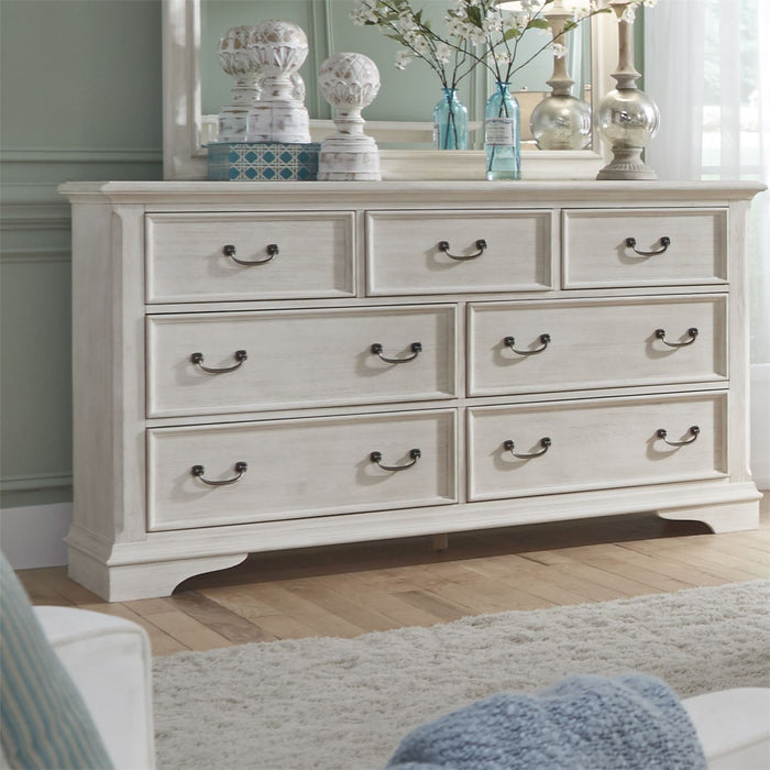 Liberty Furniture | Bedroom Dresser & Mirror in Charlottesville, Virginia 4182