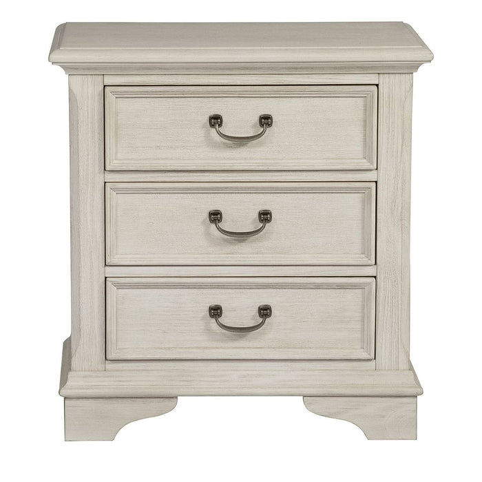 Bayside Bedroom 3 Drawer Night Stand