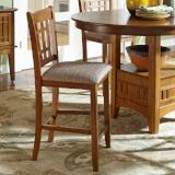 Liberty Furniture | Casual Dining 24 Inch Mission Bar stools Richmond Virginia 12142