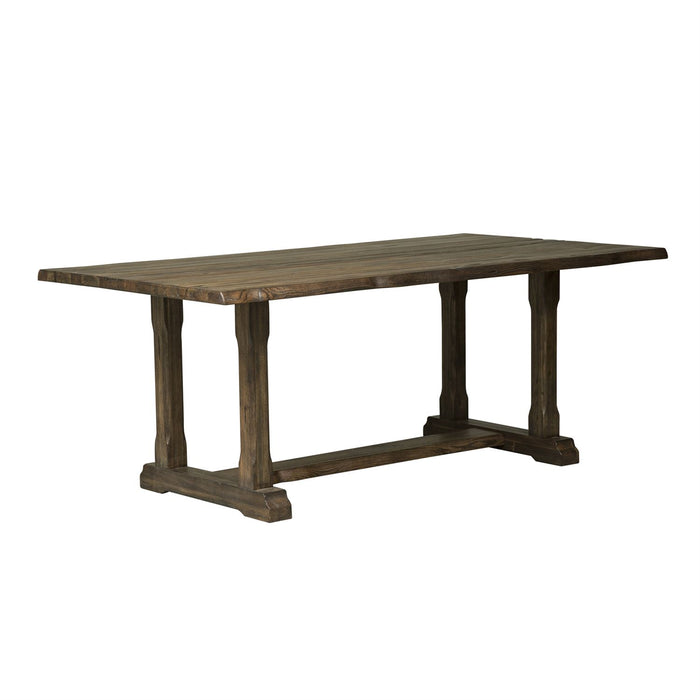 Liberty Furniture | Casual Dining 5 Piece Trestle Table Set in Frederick, Maryland 3701