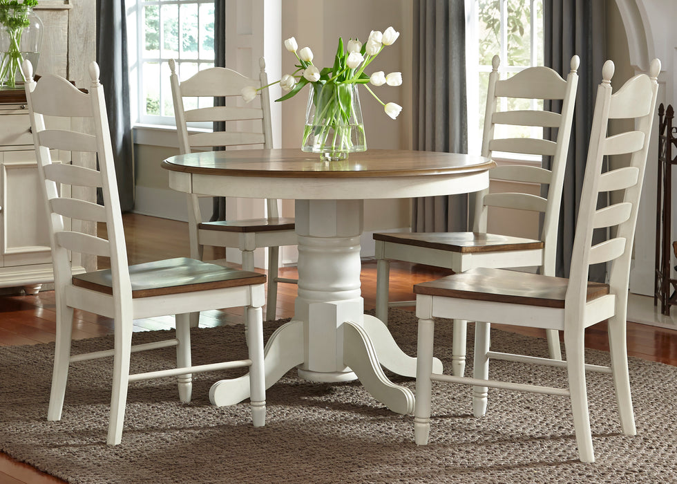 Liberty Furniture | Casual Dining 5 Piece Pedestal Table Sets in Lynchburg, Virginia 377