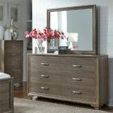 Liberty Furniture | Bedroom Dresser & Mirror in Lynchburg, Virginia 8546