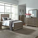 Liberty Furniture | Bedroom Twin Uph 3 Piece Bedroom Set in Charlottesville, VA 8624