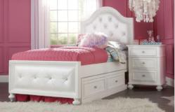 Legacy Classic Furniture | Youth Bedroom Upholstered Bed Twin 3 Piece Bedroom Set in Richmond,VA 11127