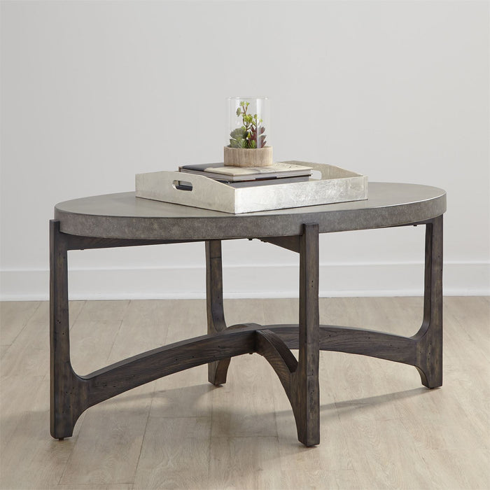 Liberty Furniture | Occasional Oval Cocktail Table in Richmond,VA 8100