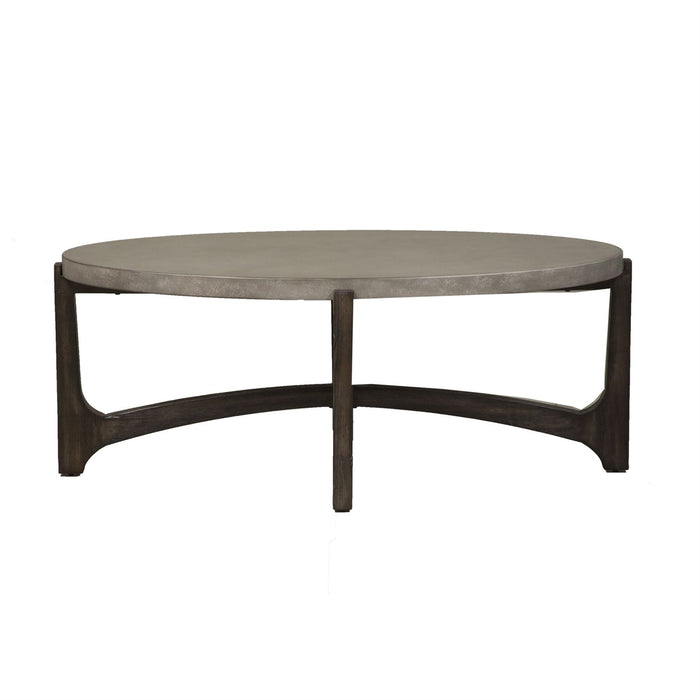 Liberty Furniture | Occasional Oval Cocktail Table in Richmond,VA 8098