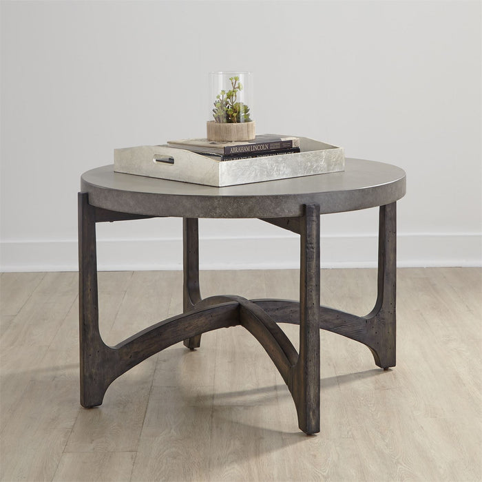 Liberty Furniture | Occasional Round Cocktail Table in Richmond,VA 8096