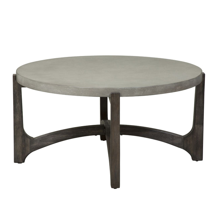 Liberty Furniture | Occasional Round Cocktail Table in Richmond,VA 8095