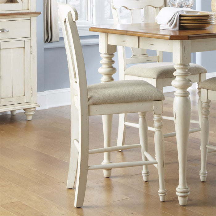 Liberty Furniture | Casual Dining Uph Splat Back Counter Chair in Richmond,VA 7928