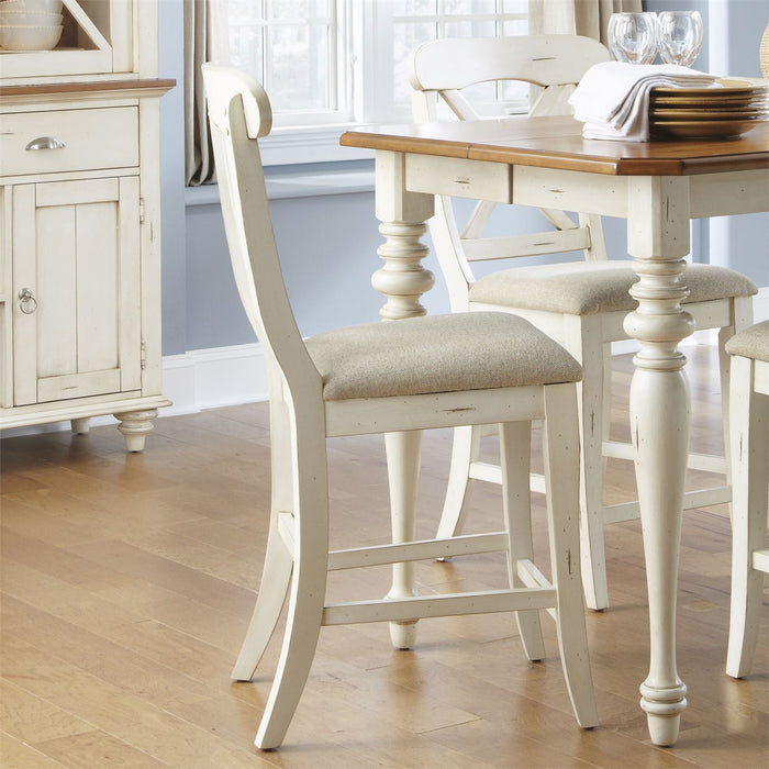 Liberty Furniture | Casual Dining Uph X Back Counter Chair  in Richmond,VA 7931