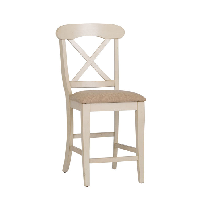 Liberty Furniture | Casual Dining Uph X Back Counter Chair  in Richmond,VA 7930