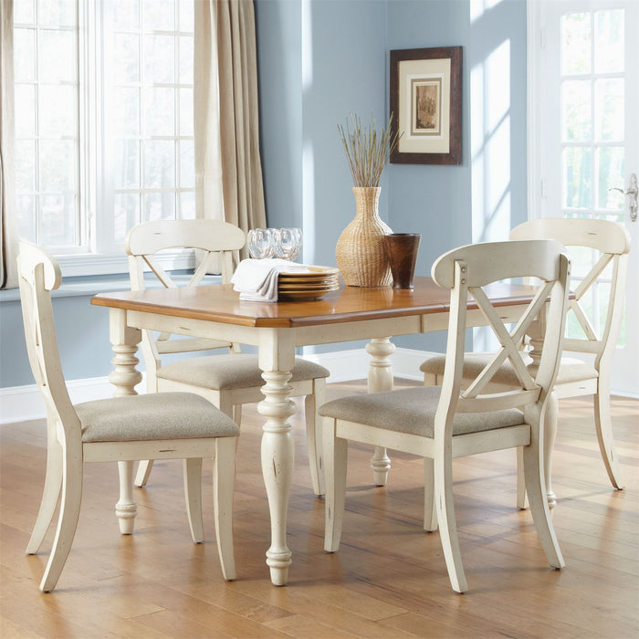 Liberty Furniture | Casual Dining Opt 5 Piece Rectangular Table Set in Winchester, VA 7961