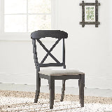 Liberty Furniture | Casual Dining Uph X Back Side Chairs in Richmond Virginia 15886