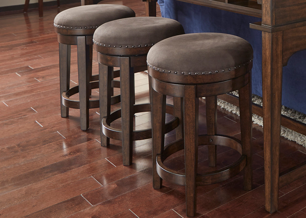 Liberty Furniture | Occasional Swivel Barstool in Richmond Virginia 1461