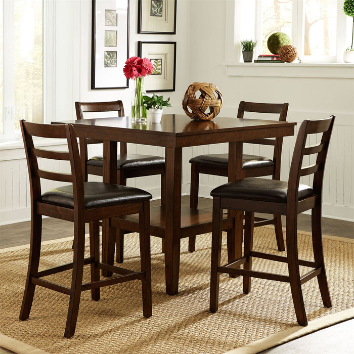 Liberty Furniture | Casual Dining 5 Piece Gathering Table Set in Richmond,VA 3811