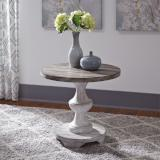 Liberty Furniture | Occasional Round End Table in Richmond Virginia 8265