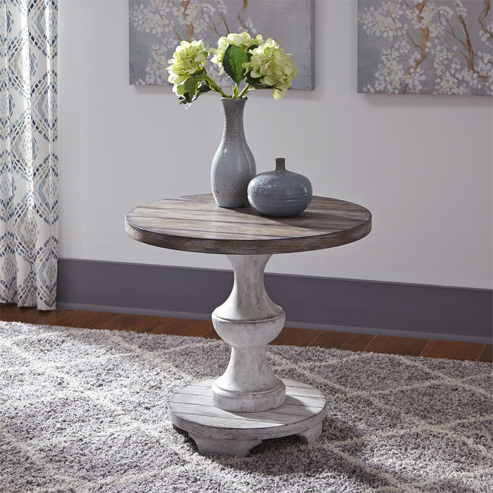 Liberty Furniture | Occasional Round End Table in Richmond Virginia 8266