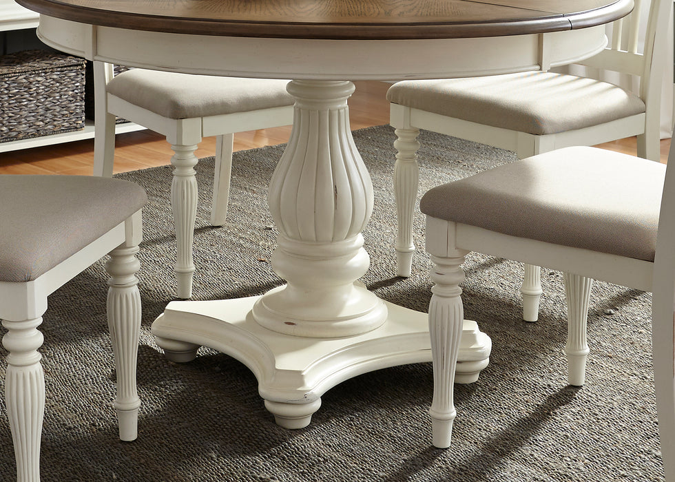 Liberty Furniture | Casual Dining 5 Piece Pedestal Table Sets in Washington D.C, MD 611
