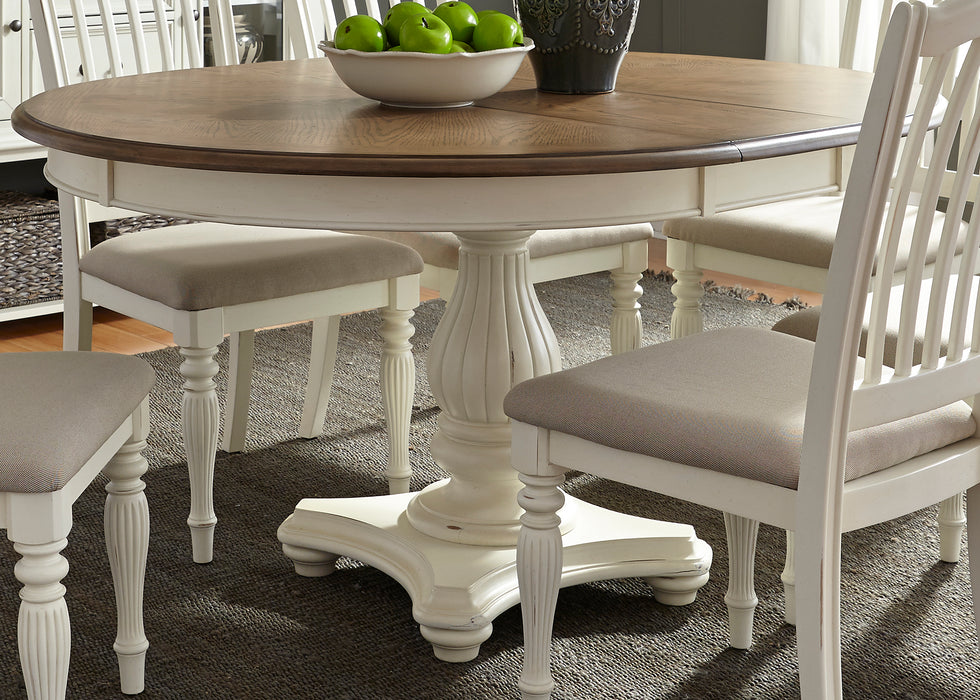 Liberty Furniture | Casual Dining 5 Piece Pedestal Table Sets in Washington D.C, MD 595