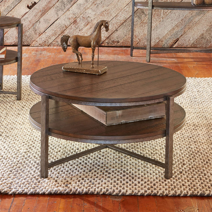 Liberty Furniture | Occasional Round Cocktail Table in Richmond Virginia 7283