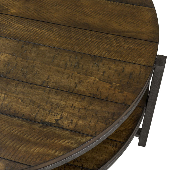 Liberty Furniture | Occasional Round Cocktail Table in Richmond Virginia 7284