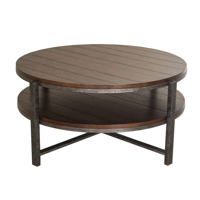 Liberty Furniture | Occasional Round Cocktail Table in Richmond Virginia 7282