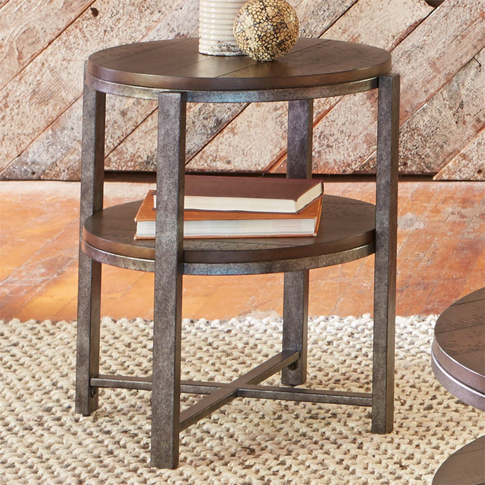 Liberty Furniture | Occasional Round End Table in Richmond Virginia 7288