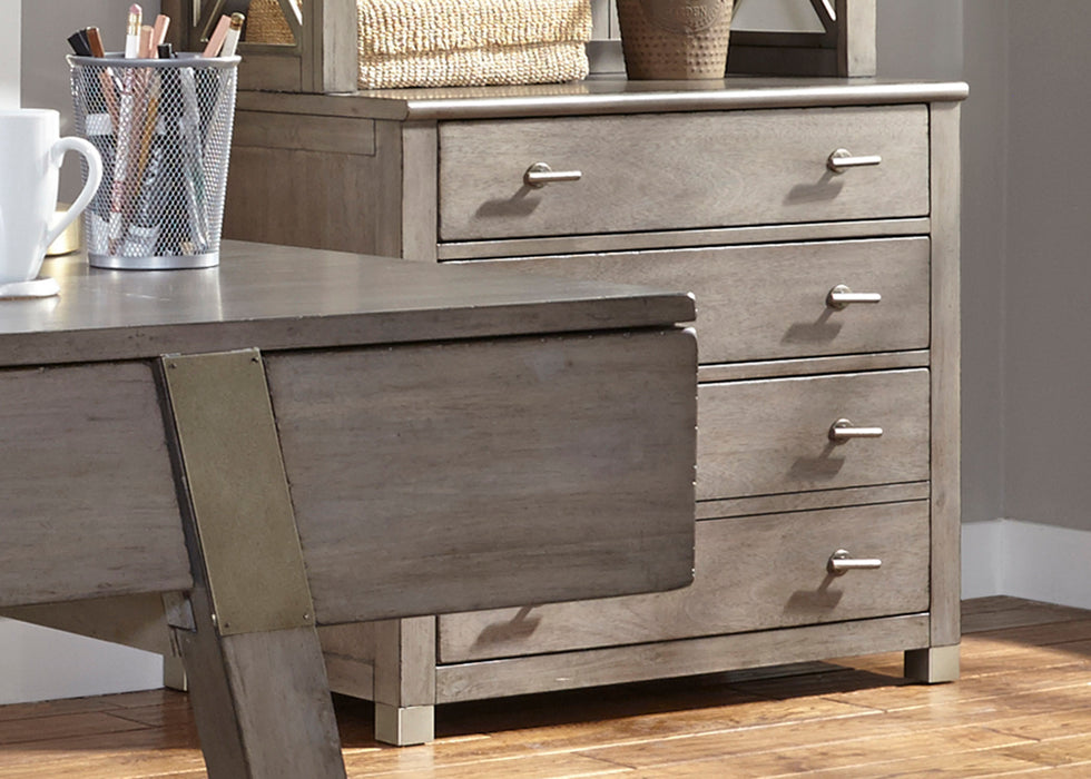 Liberty Furniture | Home Office Gray File Cabinet in Washington D.C, NV 573