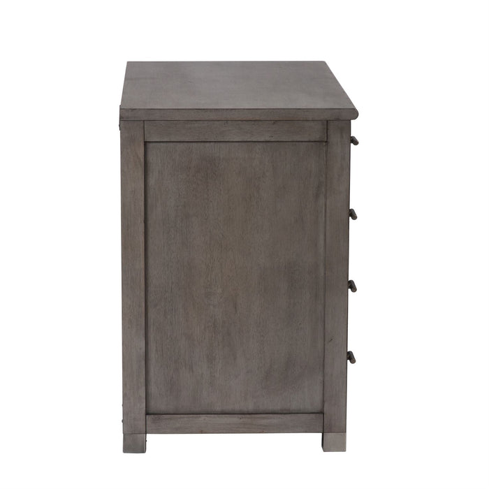 Liberty Furniture | Home Office Gray File Cabinet in Washington D.C, NV 4255