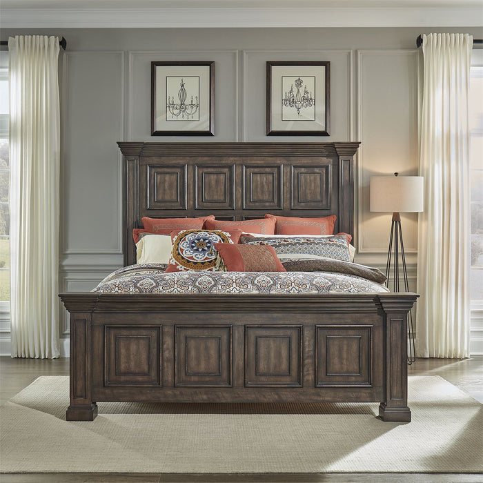Liberty Furniture | Bedroom King Panel Bed 4 Piece Bedroom Set in Pennsylvania 19179