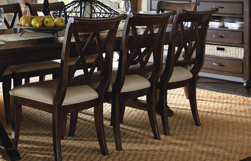 Legacy Classic Furniture | Dining X Back Side Chair in Richmond,VA 5563