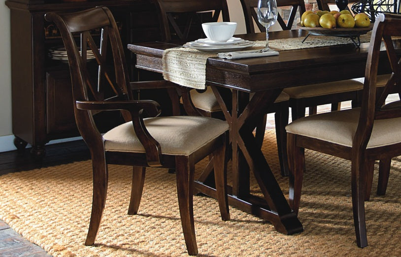 Legacy Classic Furniture | Dining Trestle Table 7 Piece Set in Annapolis, Maryland 5596