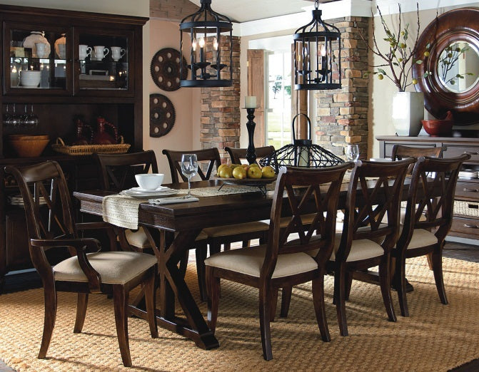 Legacy Classic Furniture | Dining Trestle Table 7 Piece Set in Annapolis, Maryland 5593