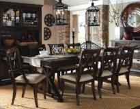 Legacy Classic Furniture | Dining Trestle Table 7 Piece Set in Annapolis, Maryland 5592