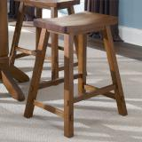 Liberty Furniture | Casual Dining 24 Inch Sawhorse Barstools - Tobacco in Richmond Virginia 10386