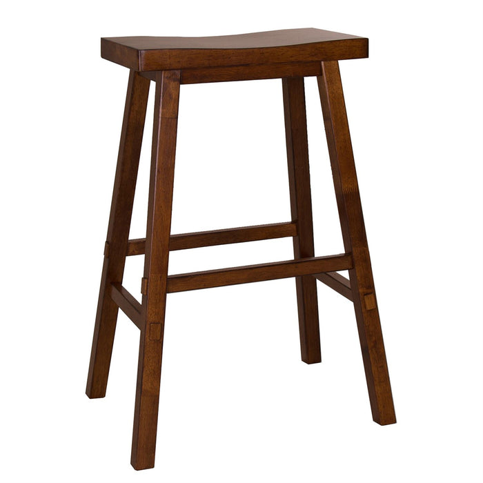 Liberty Furniture | Casual Dining 30 Inch Sawhorse Barstools - Tobacco in Richmond Virginia 10397