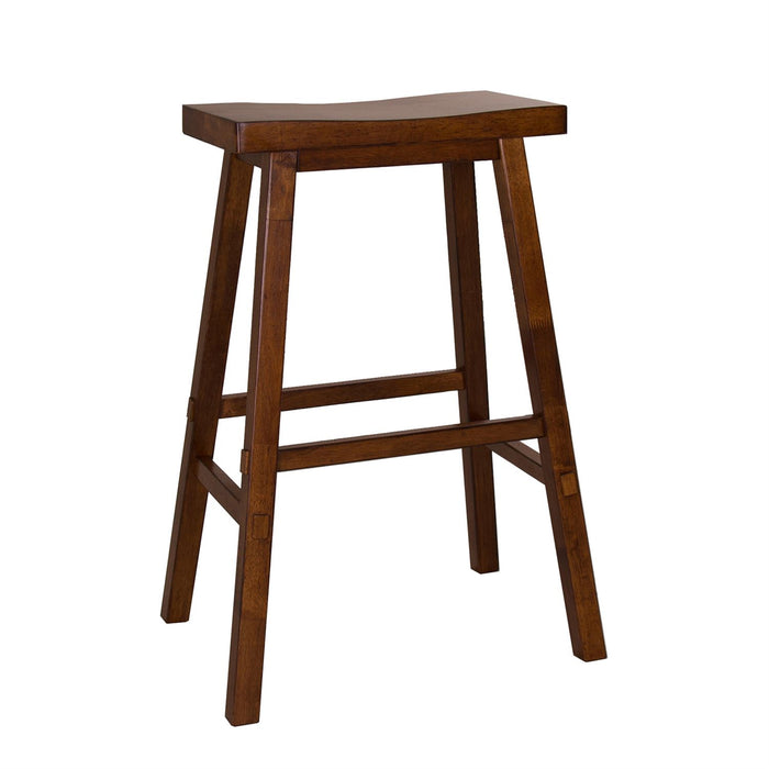 Liberty Furniture | Casual Dining 30 Inch Sawhorse Barstools - Tobacco in Richmond Virginia 10396