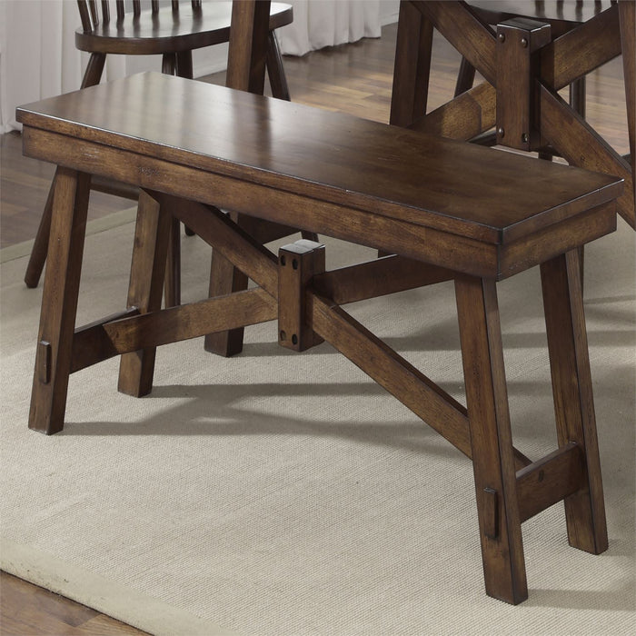 Liberty Furniture | Casual Dining Benches - Tobacco in Richmond Virginia 10412