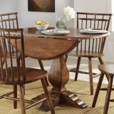 Liberty Furniture | Casual Dining Round Drop Leaf Tables in Richmond Virginia 10422