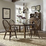 Liberty Furniture | Dining 5 Piece Rectangular Table Set in Frederick, Maryland 19009