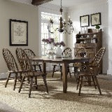 Liberty Furniture | Dining 7 Piece Rectangular Table Set in Annapolis, Maryland 19013