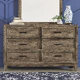 Liberty Furniture | Bedroom 6 Drawer Dresser in Richmond Virginia 17869
