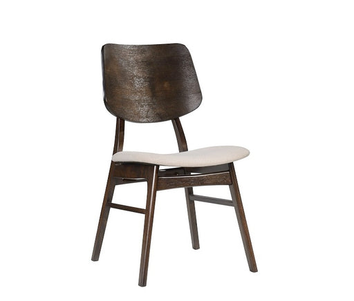 York Dining Wood Back Chair-coffee