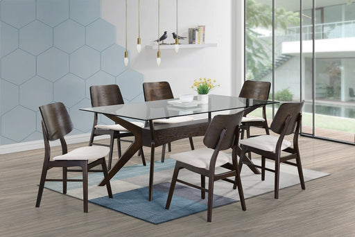 New Classic Furniture | Dining Table 7 Piece Set in Pennsylvania 835