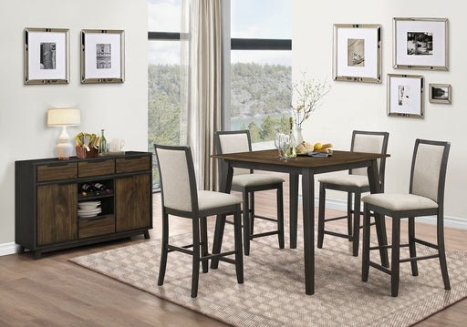 New Classic Furniture | Dining Counter Table 6 Piece Set in Charlottesville, Virginia 685