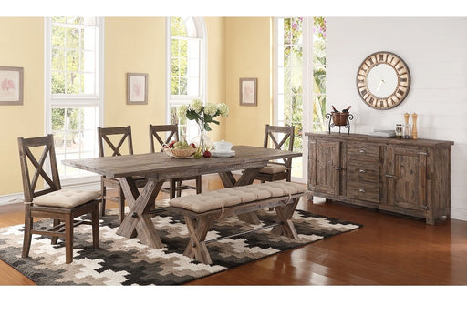 Tuscany Park Dining Rectangular Table 7 Piece Set