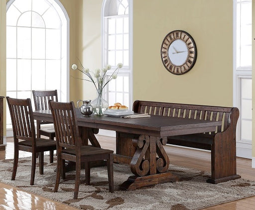 New Classic Furniture |  Dining Rectangular Table 5 Piece Set in Baltimore, Maryland 596