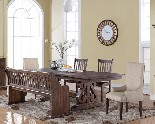 New Classic Furniture |  Dining Rectangular Table 6 Piece Set in Pennsylvania 618